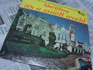 "60's Disneyland RECORD ""its a small world"":60年代ディズニーレコード"